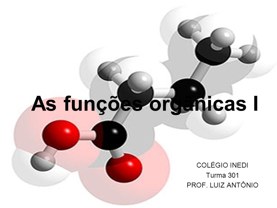 COLÉGIO INEDI Turma 301 PROF. LUIZ ANTÔNIO
