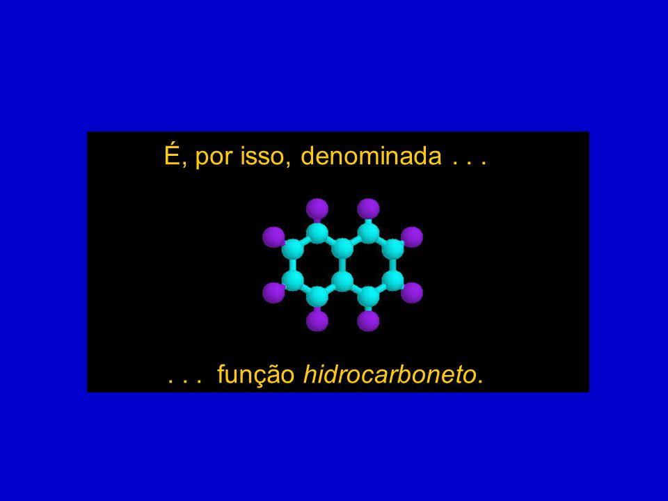 . . . função hidrocarboneto.
