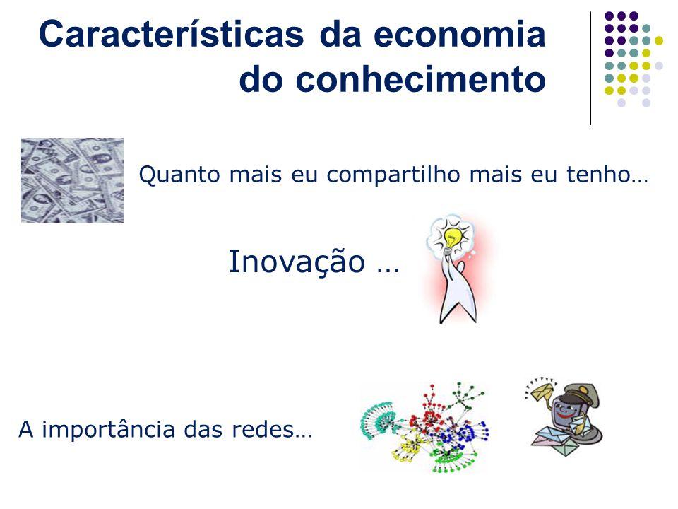 Características da economia do conhecimento