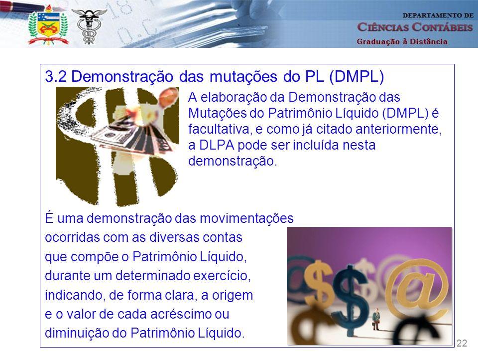 3.2 Demonstração das mutações do PL (DMPL)