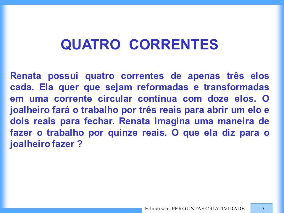 QUATRO CORRENTES