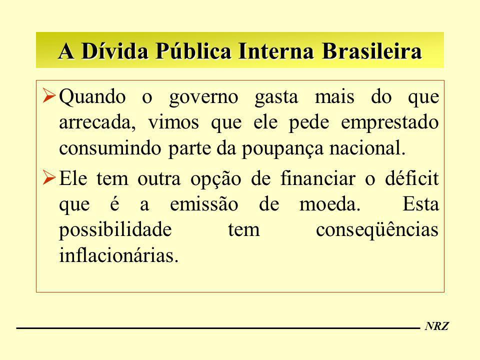 A Dívida Pública Interna Brasileira