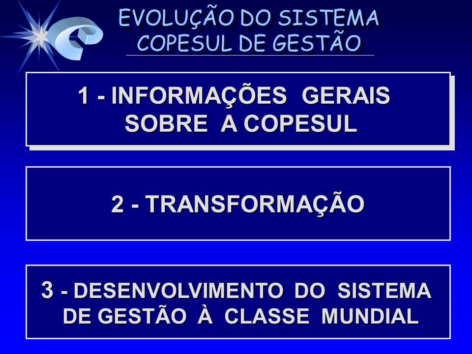 3 - DESENVOLVIMENTO DO SISTEMA DE GESTÃO À CLASSE MUNDIAL