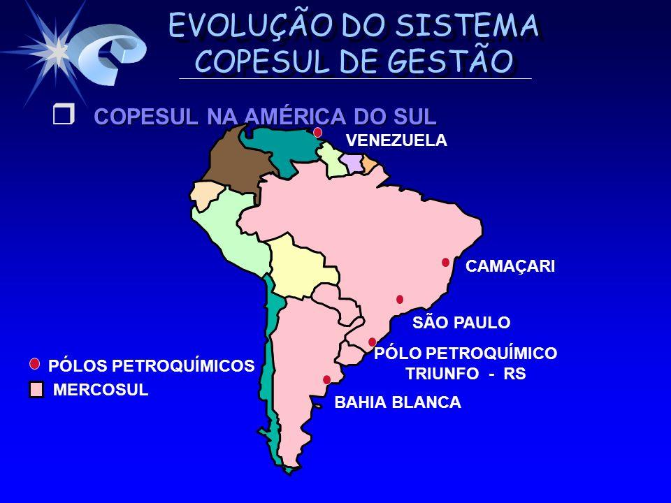 COPESUL NA AMÉRICA DO SUL