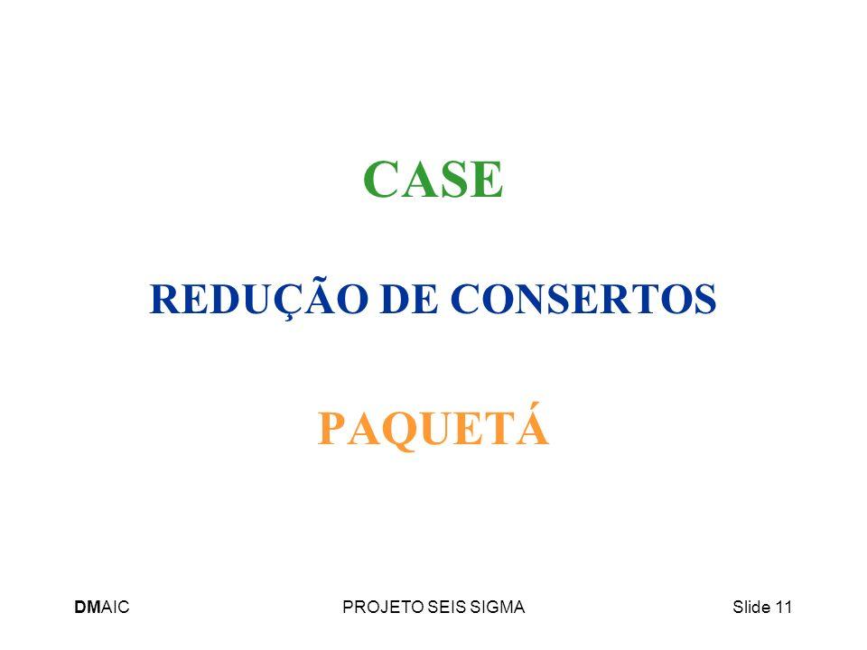 REDUÇÃO DE CONSERTOS PAQUETÁ