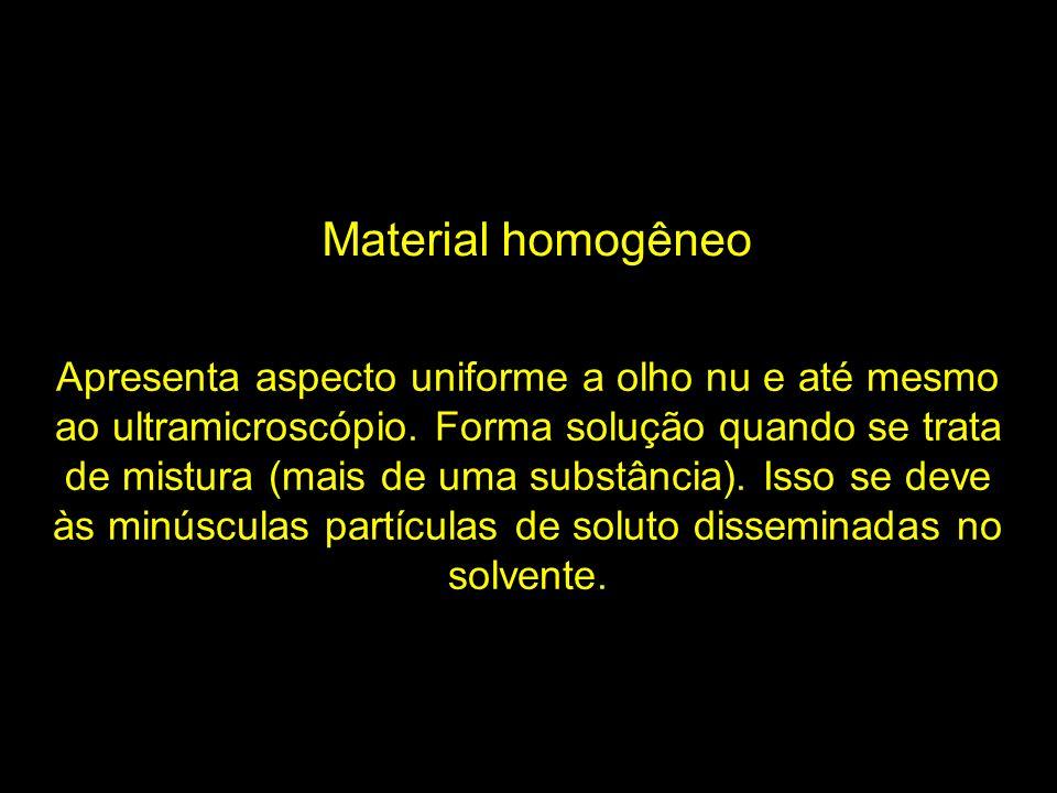 Material homogêneo