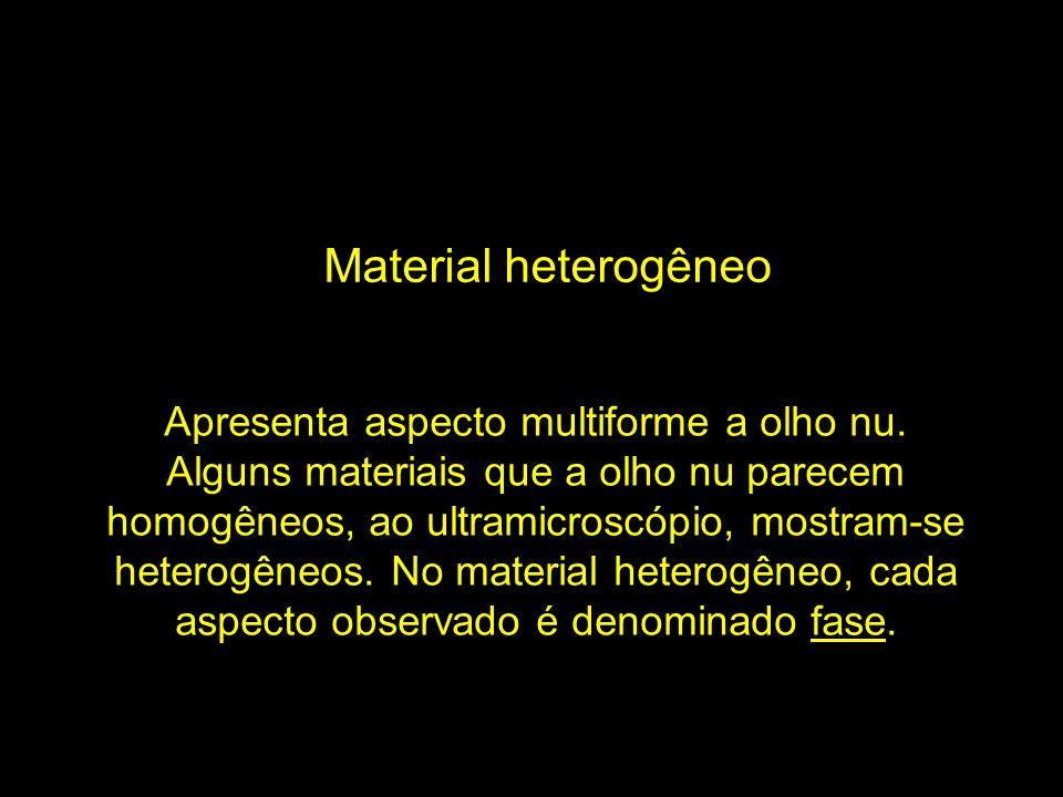 Material heterogêneo