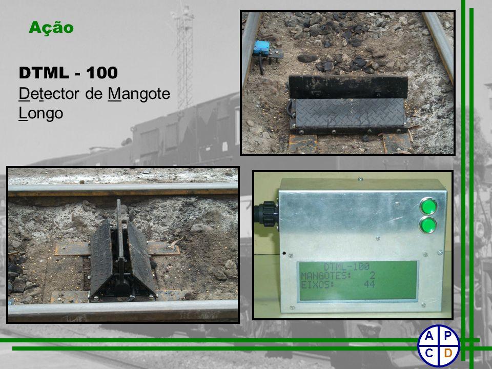 Ação DTML - 100 Detector de Mangote Longo P C D A