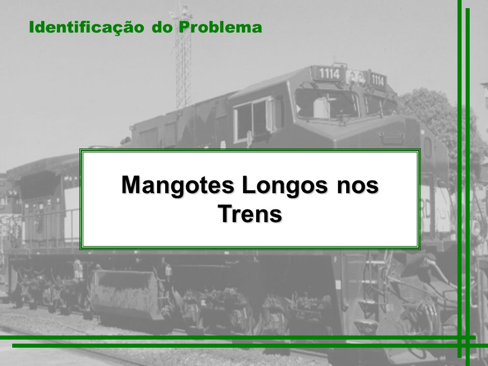 Mangotes Longos nos Trens