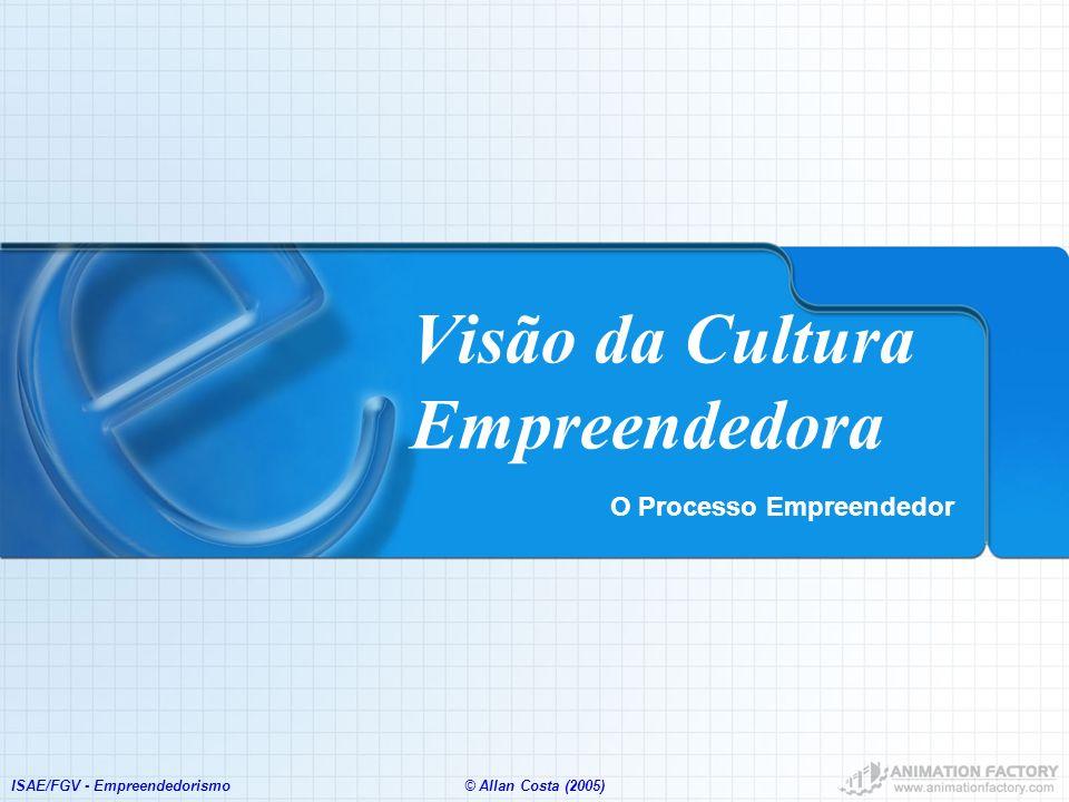 Visão da Cultura Empreendedora