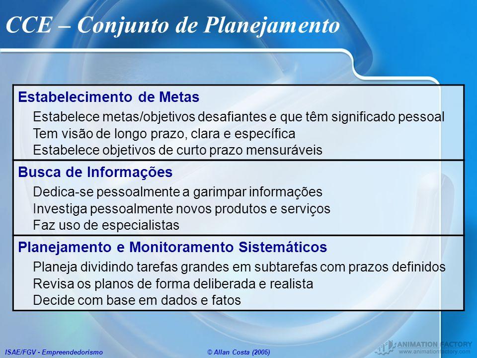 CCE – Conjunto de Planejamento