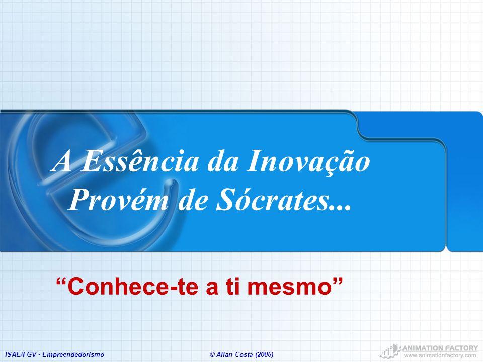 A Essência da Inovação Provém de Sócrates...
