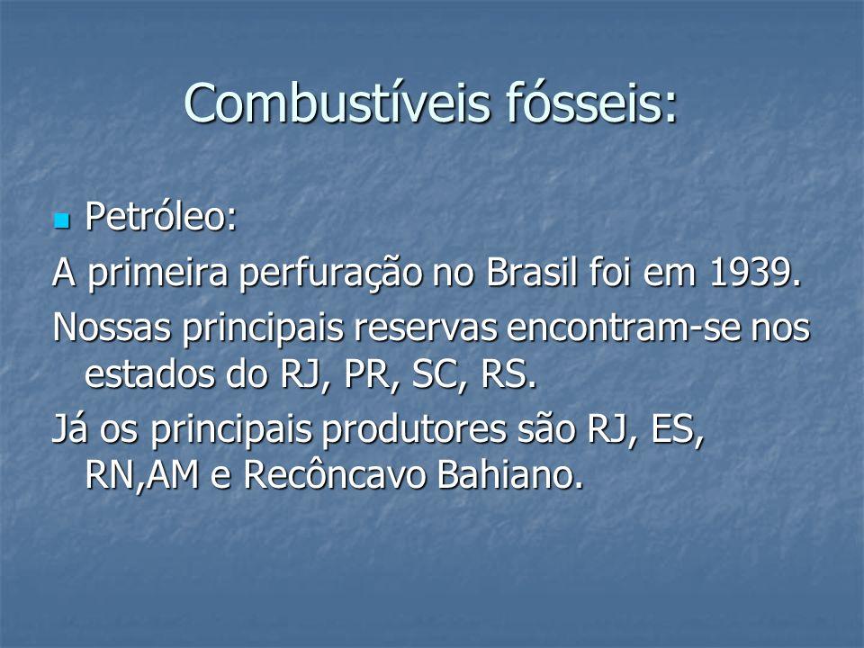 Combustíveis fósseis: