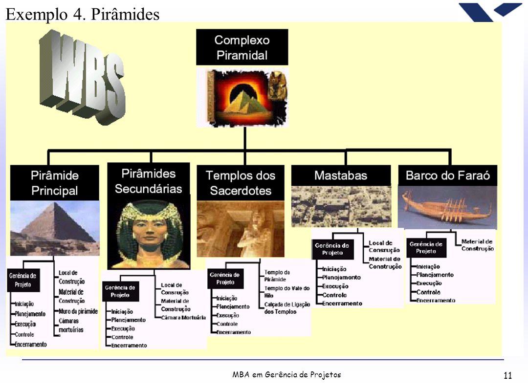 Exemplo 4. Pirâmides