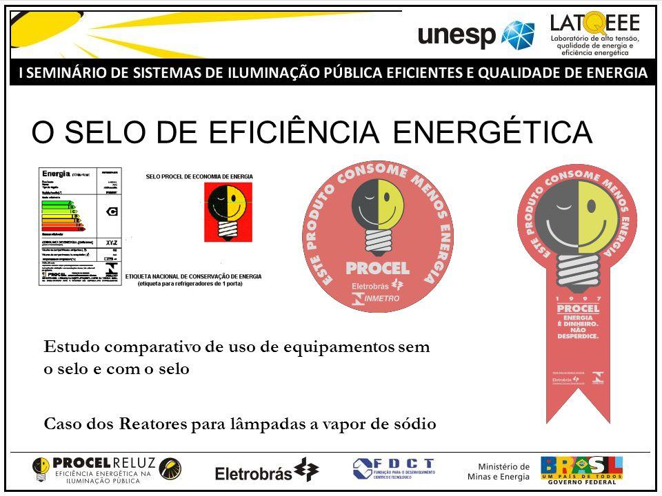 O SELO DE EFICIÊNCIA ENERGÉTICA