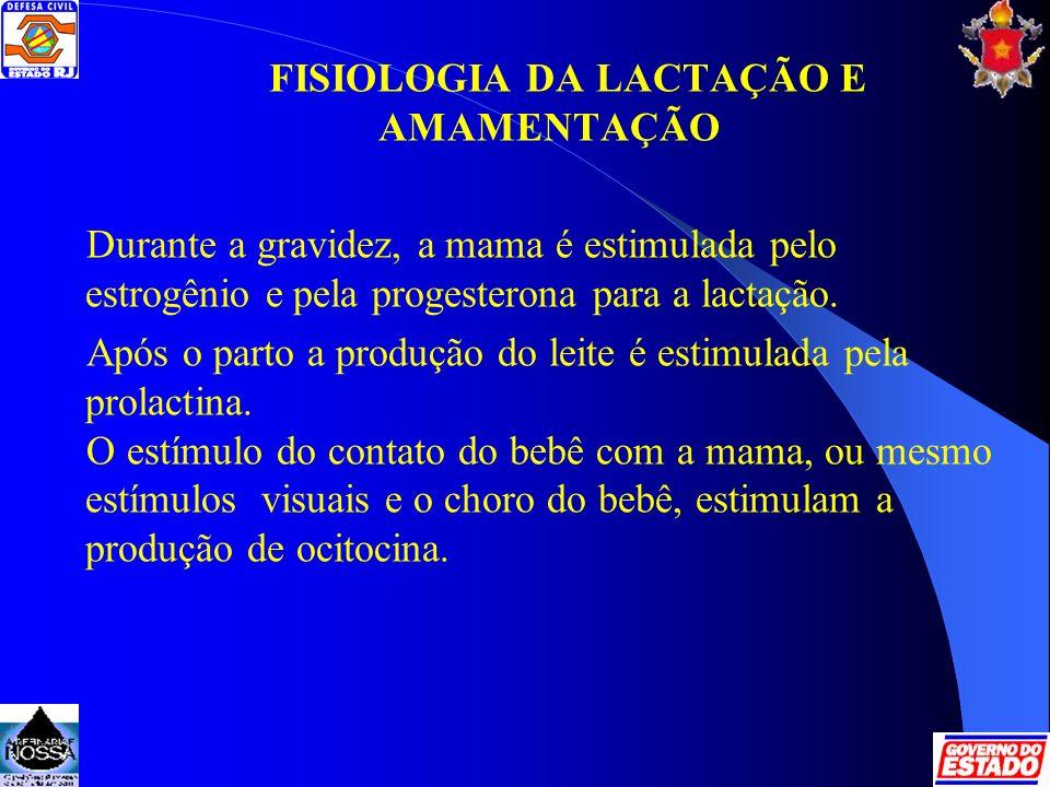 FISIOLOGIA DA LACTAÇÃO E AMAMENTAÇÃO