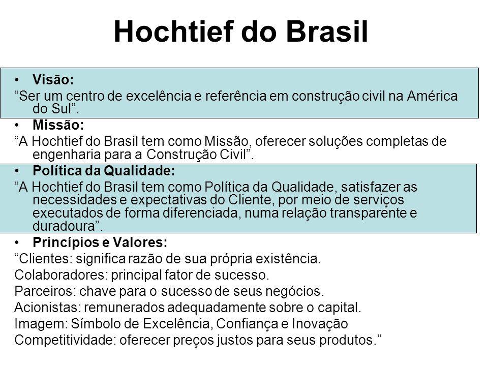 Hochtief do Brasil Visão: