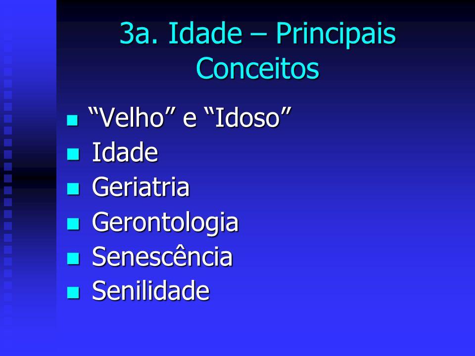 3a. Idade – Principais Conceitos