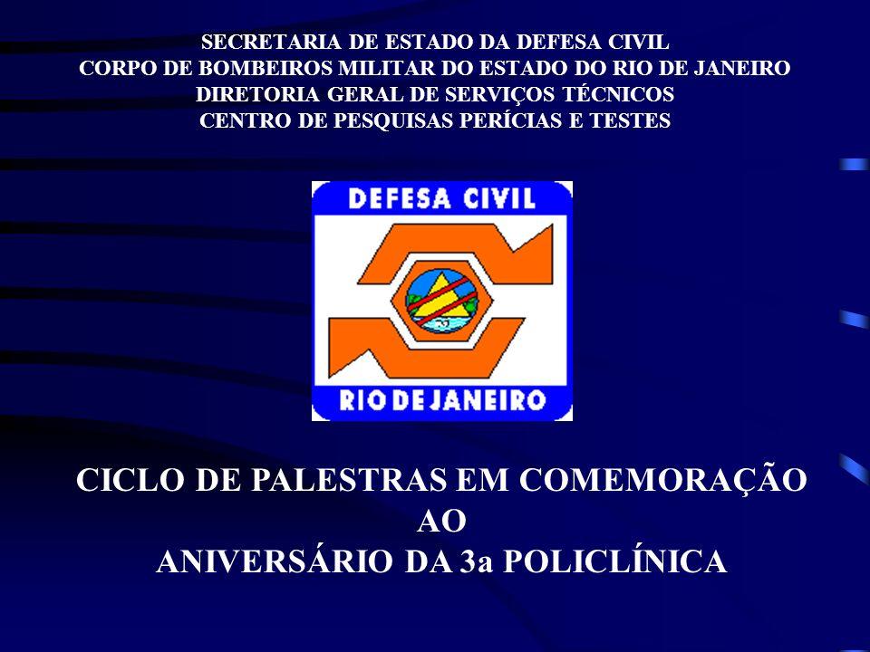 CICLO DE PALESTRAS EM COMEMORAÇÃO AO ANIVERSÁRIO DA 3a POLICLÍNICA