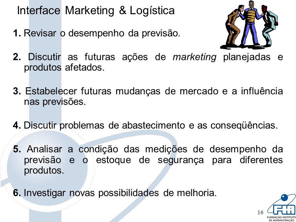 Interface Marketing & Logística