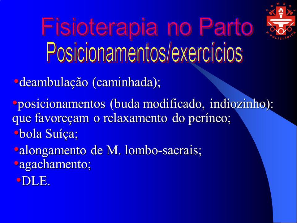 Posicionamentos/exercícios