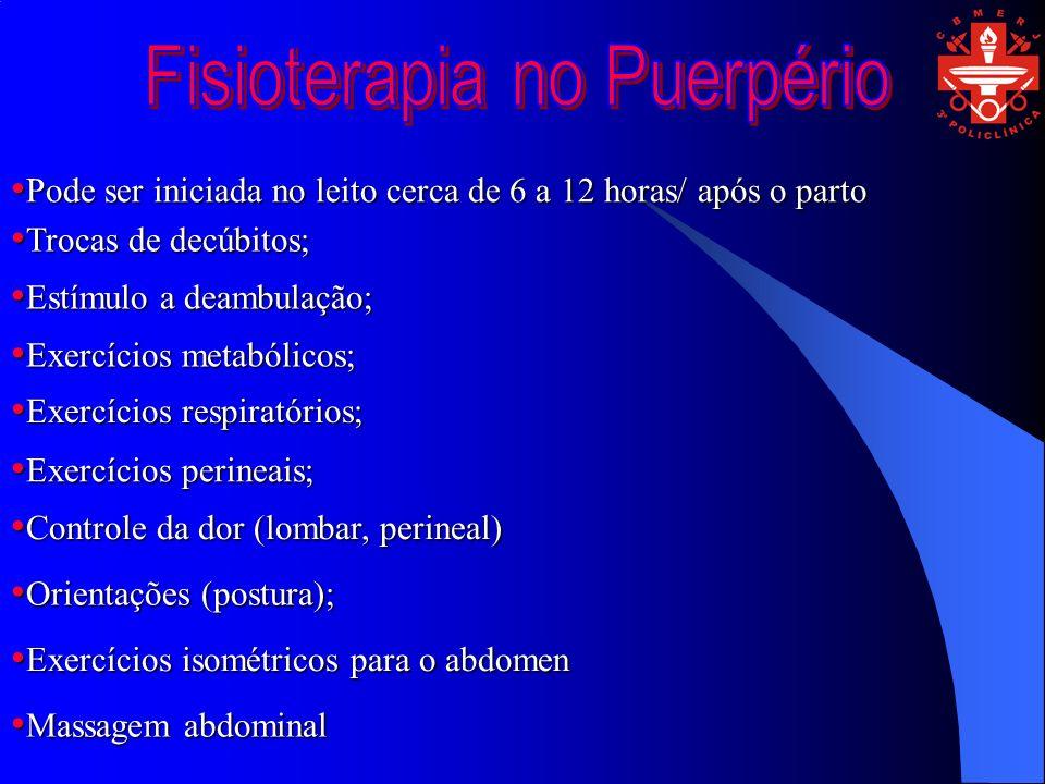 Fisioterapia no Puerpério