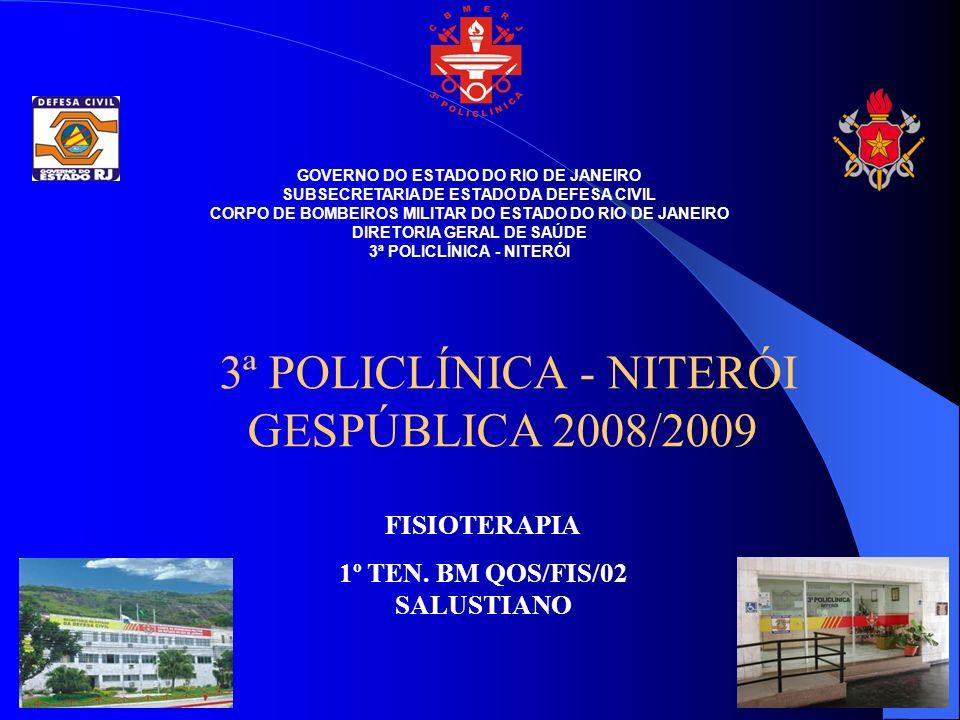 3ª POLICLÍNICA - NITERÓI GESPÚBLICA 2008/2009