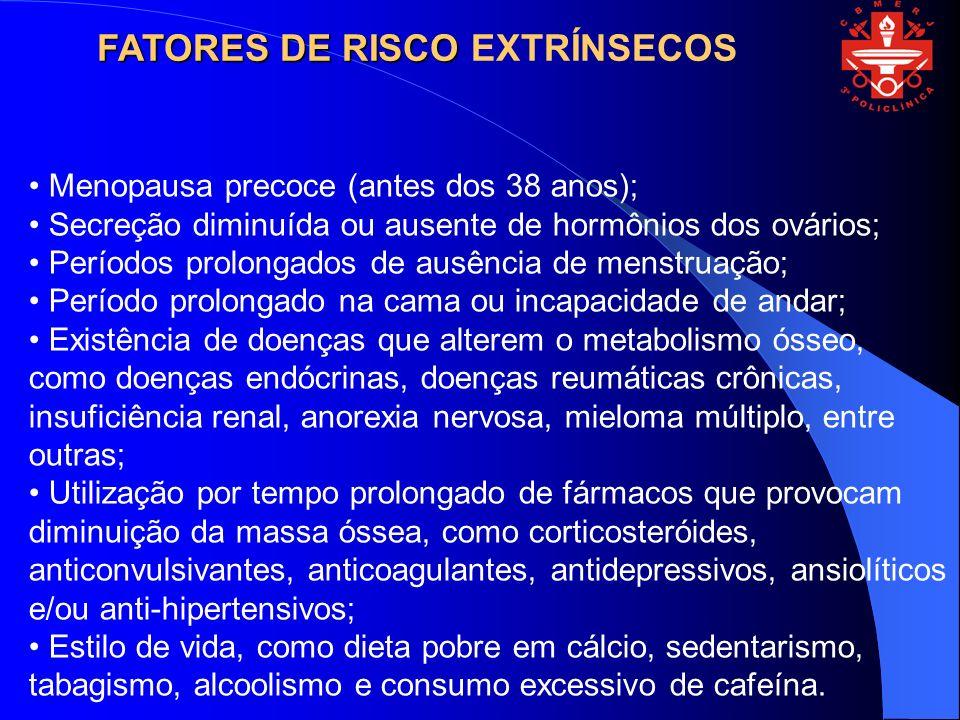FATORES DE RISCO EXTRÍNSECOS
