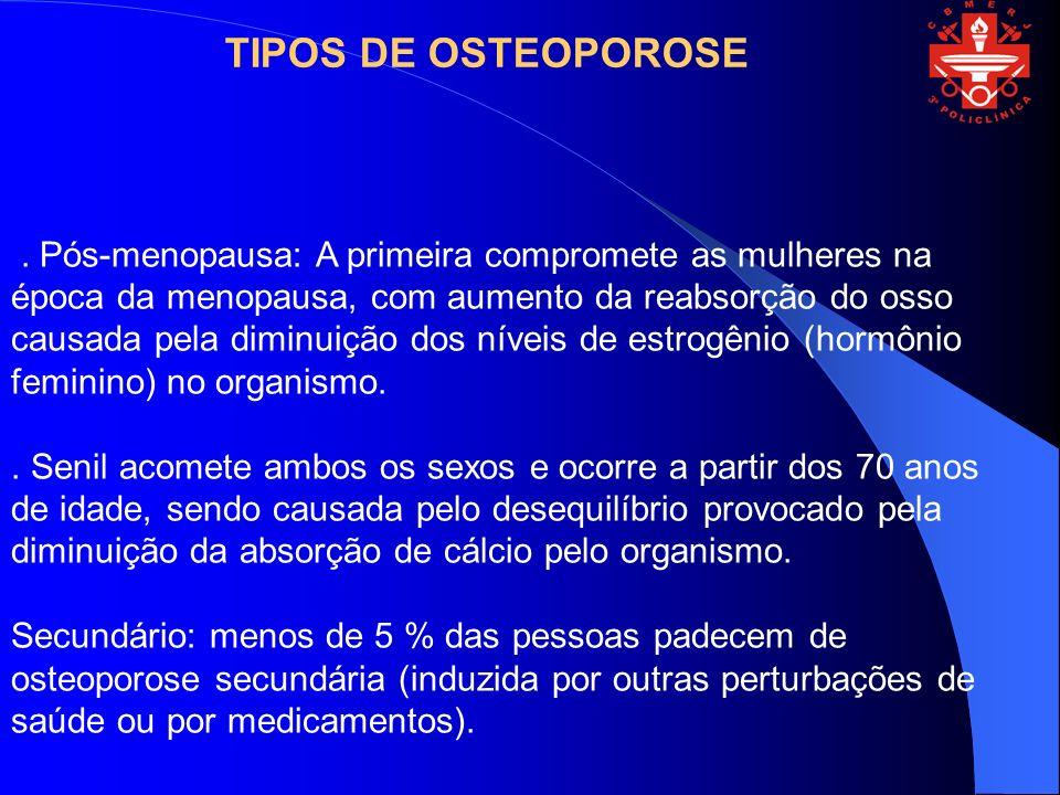 TIPOS DE OSTEOPOROSE