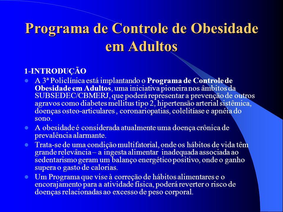 Programa de Controle de Obesidade em Adultos