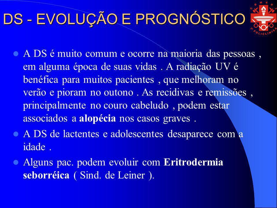 DS - EVOLUÇÃO E PROGNÓSTICO