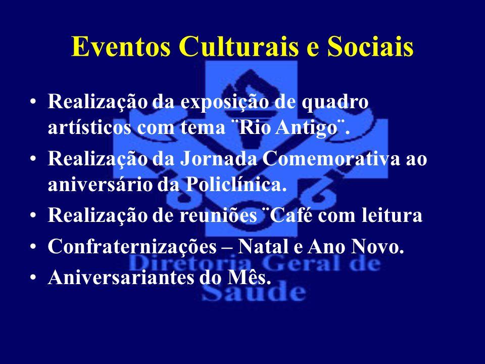 Eventos Culturais e Sociais