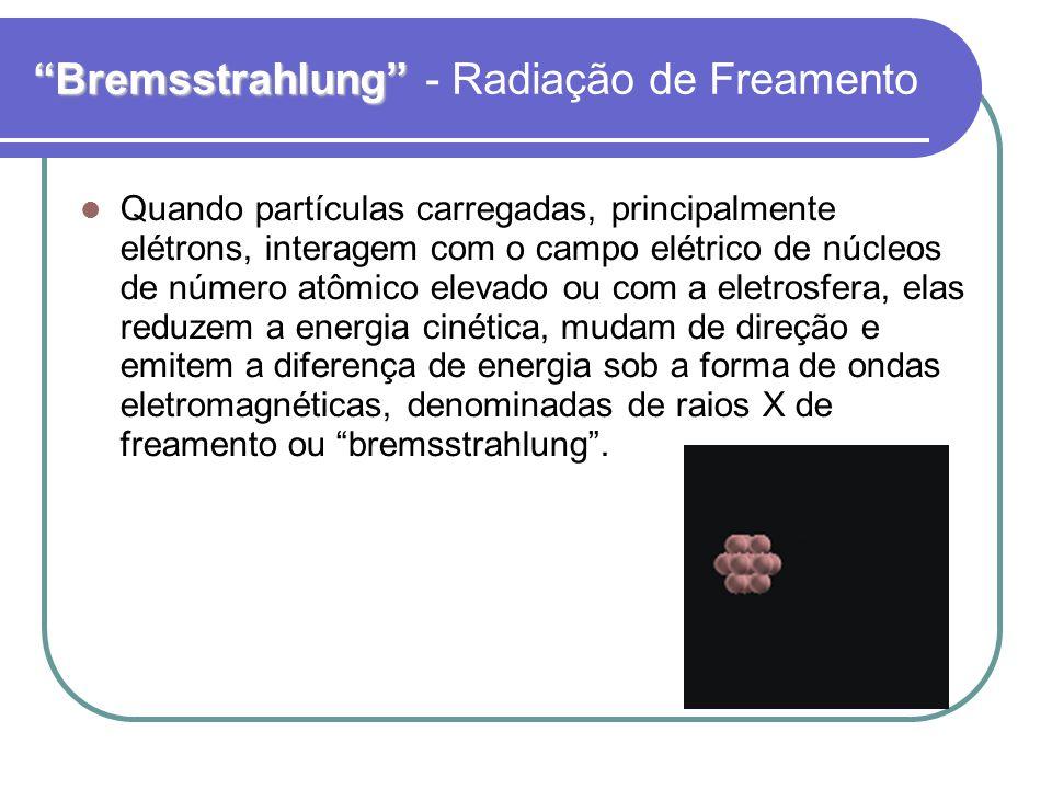 Bremsstrahlung - Radiação de Freamento
