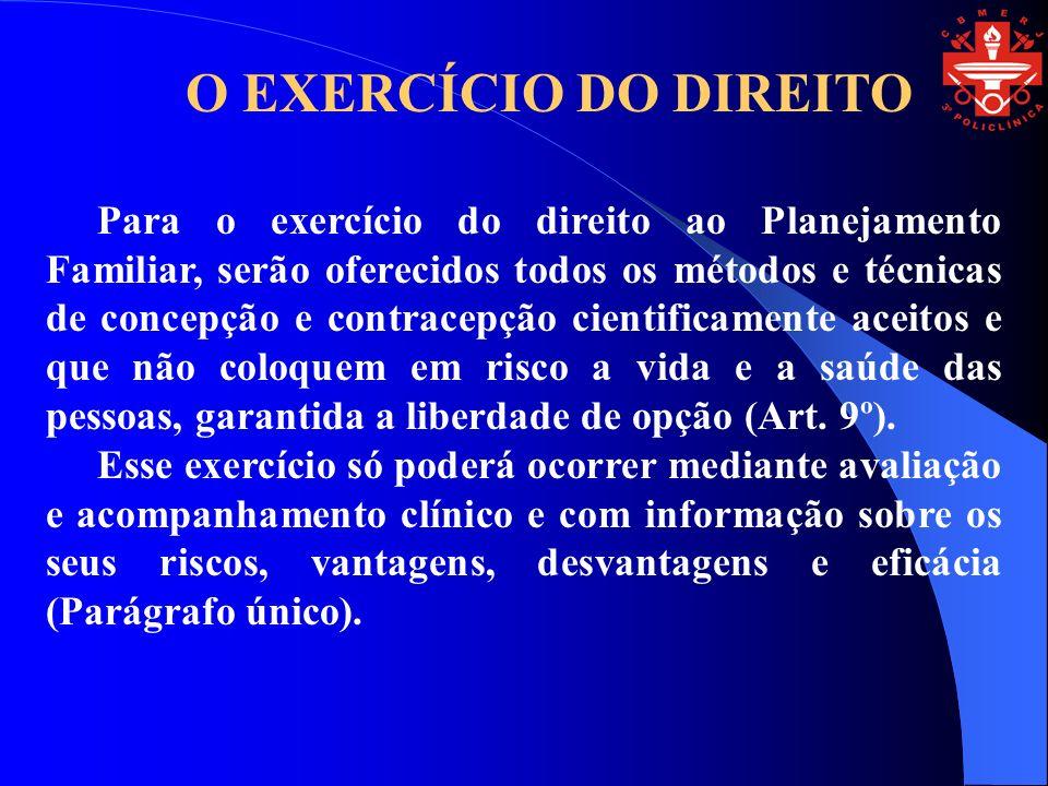 O EXERCÍCIO DO DIREITO