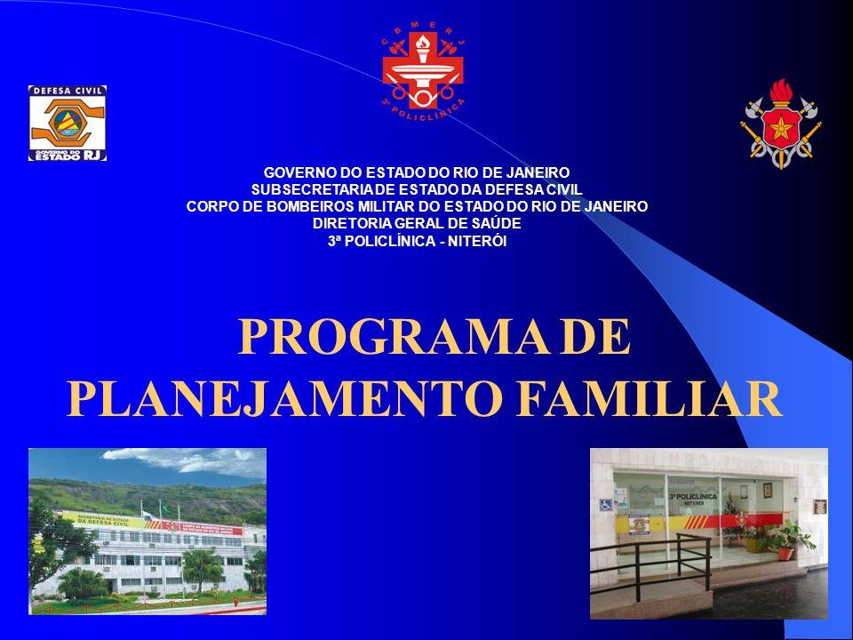 PROGRAMA DE PLANEJAMENTO FAMILIAR