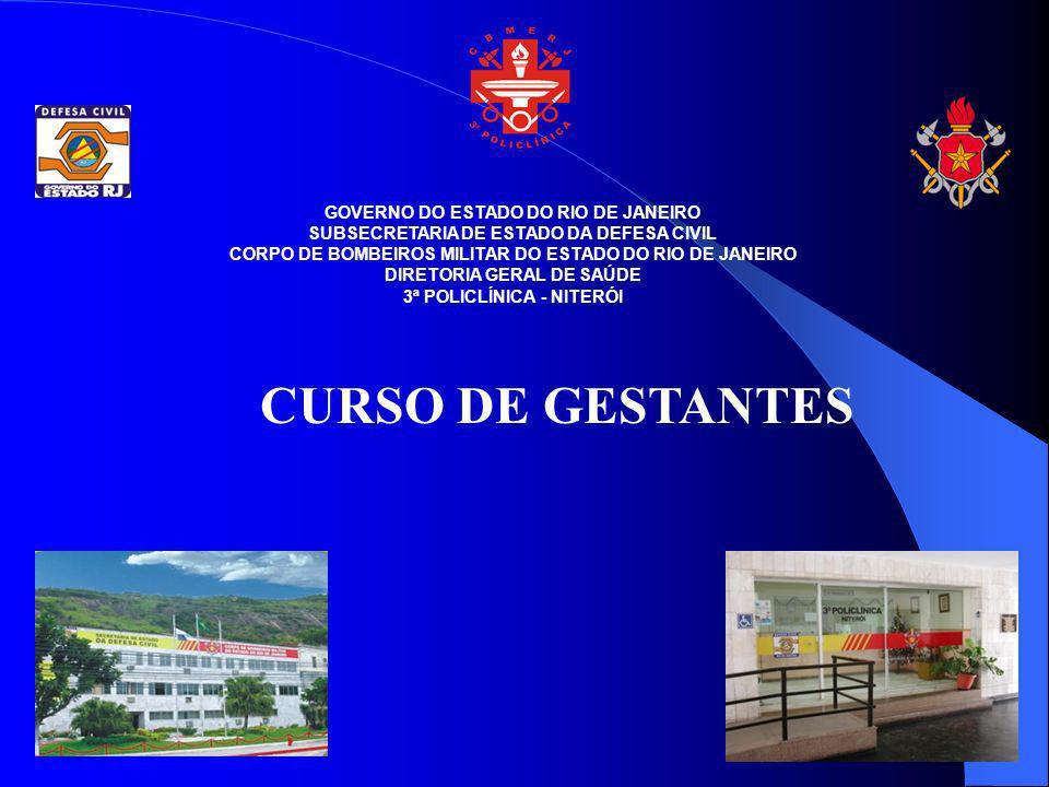CURSO DE GESTANTES GOVERNO DO ESTADO DO RIO DE JANEIRO