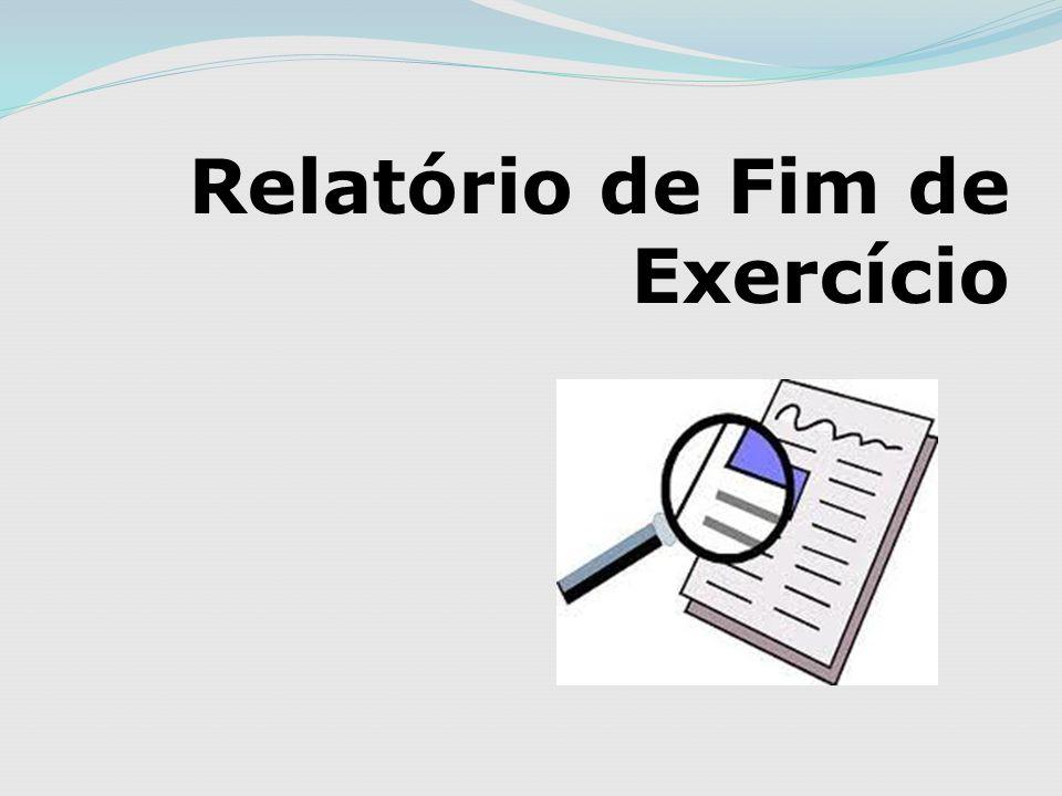 Relatório de Fim de Exercício