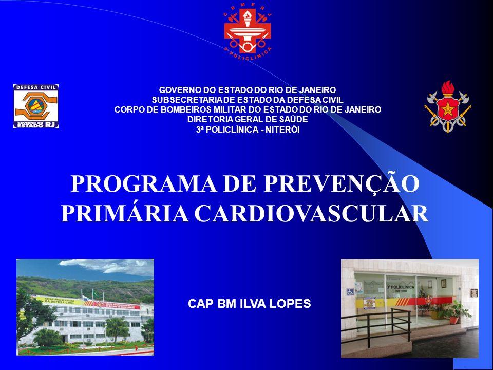PROGRAMA DE PREVENÇÃO PRIMÁRIA CARDIOVASCULAR