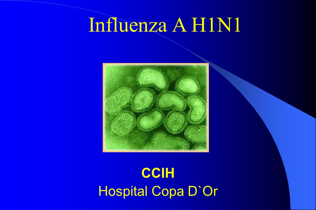 Influenza A H1N1 CCIH Hospital Copa D`Or