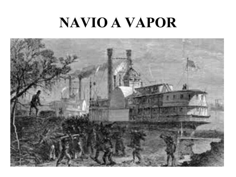NAVIO A VAPOR