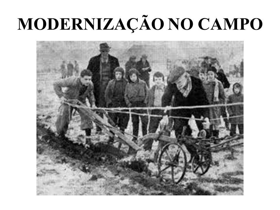 MODERNIZAÇÃO NO CAMPO