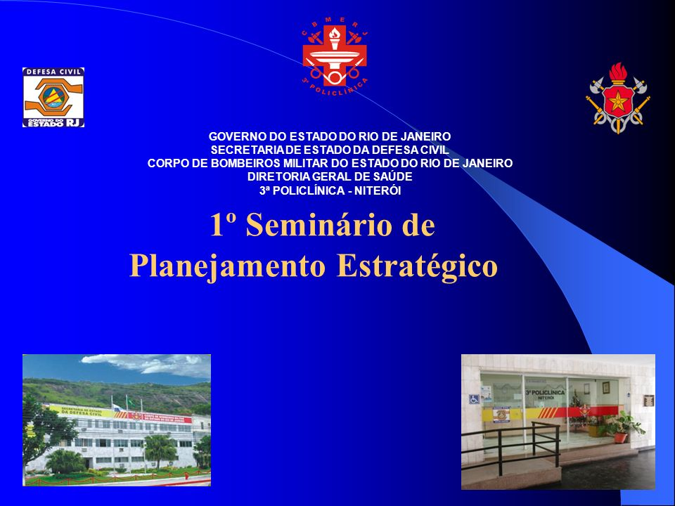 1º Seminário de Planejamento Estratégico