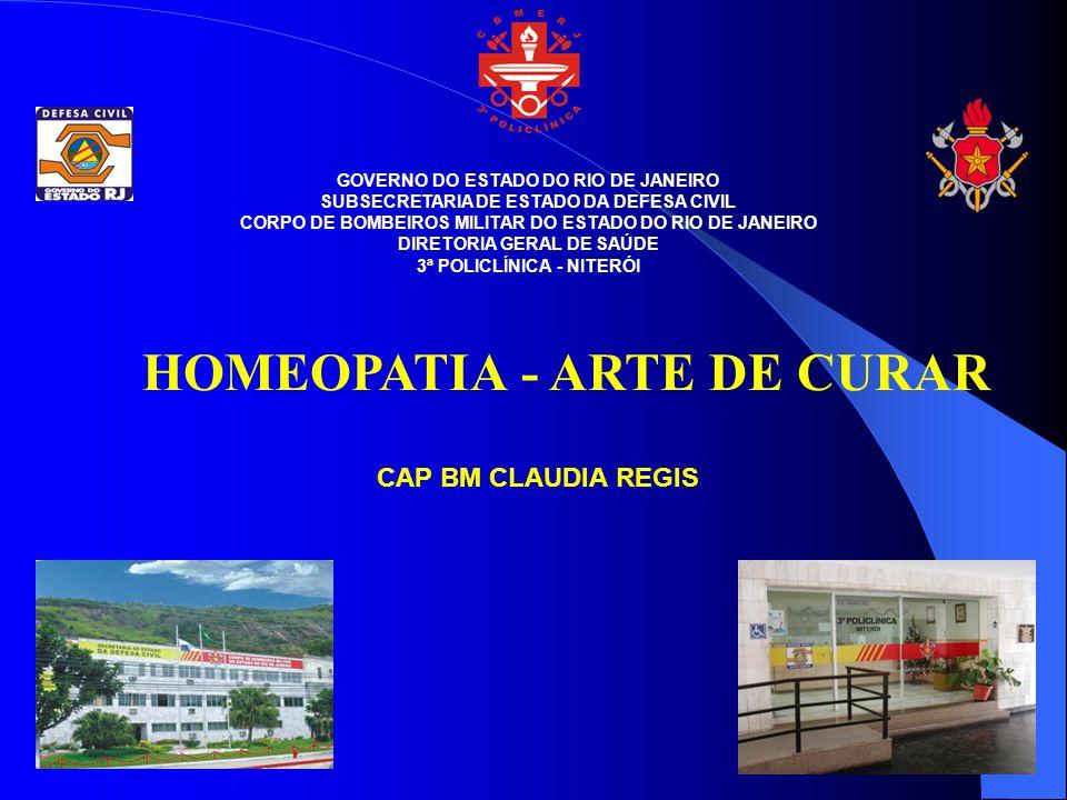 HOMEOPATIA - ARTE DE CURAR