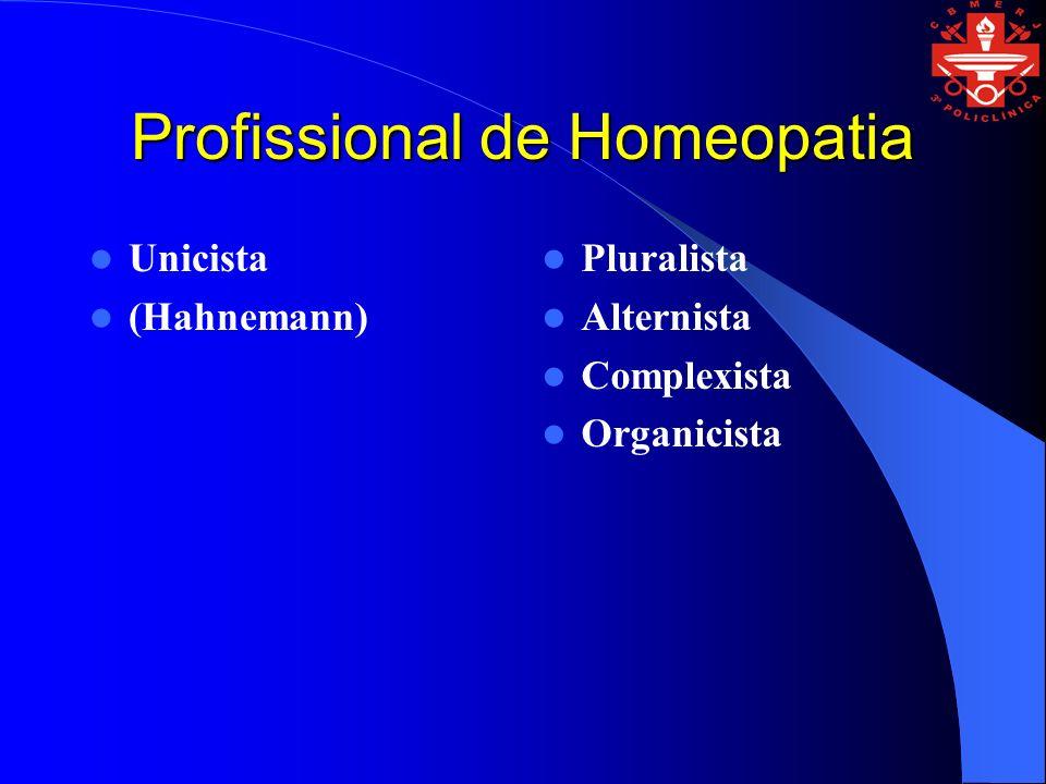 Profissional de Homeopatia