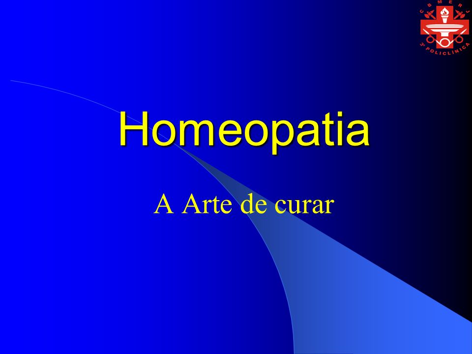 Homeopatia A Arte de curar