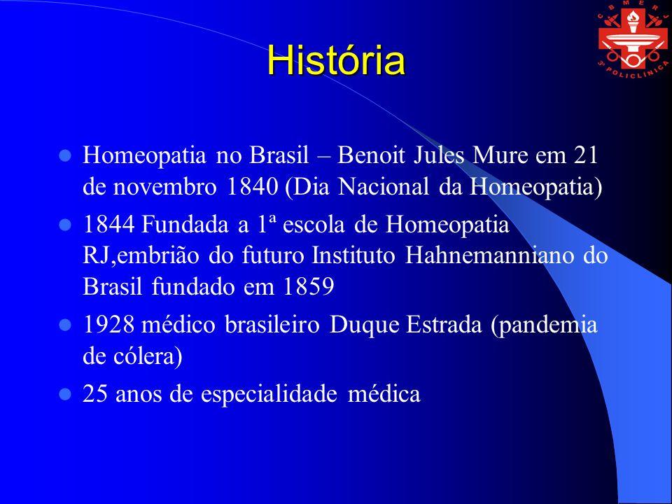 HistóriaHomeopatia no Brasil – Benoit Jules Mure em 21 de novembro 1840 (Dia Nacional da Homeopatia)