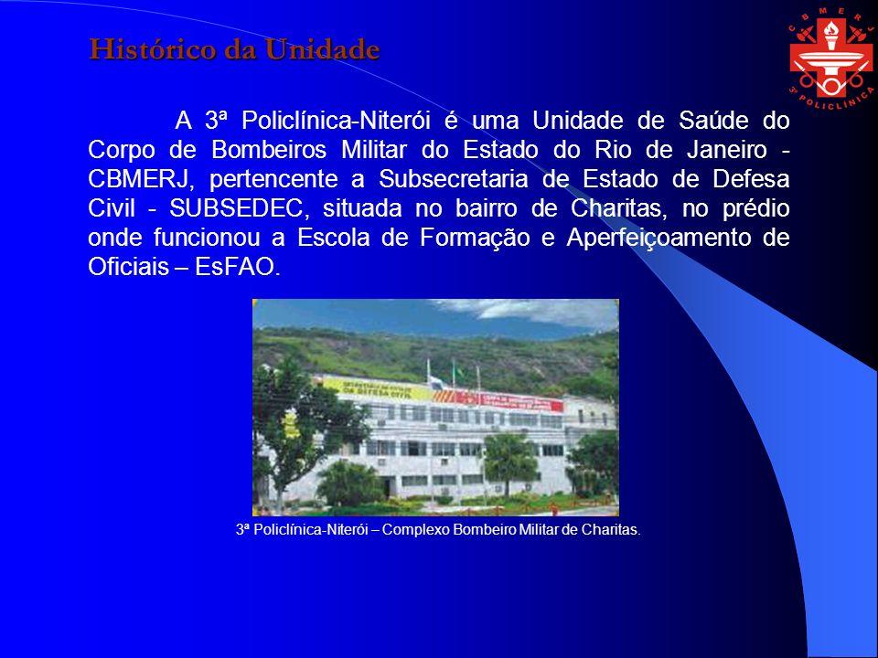 3ª Policlínica-Niterói – Complexo Bombeiro Militar de Charitas.