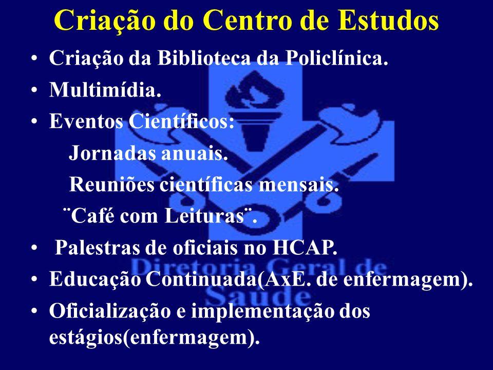 Criação do Centro de Estudos