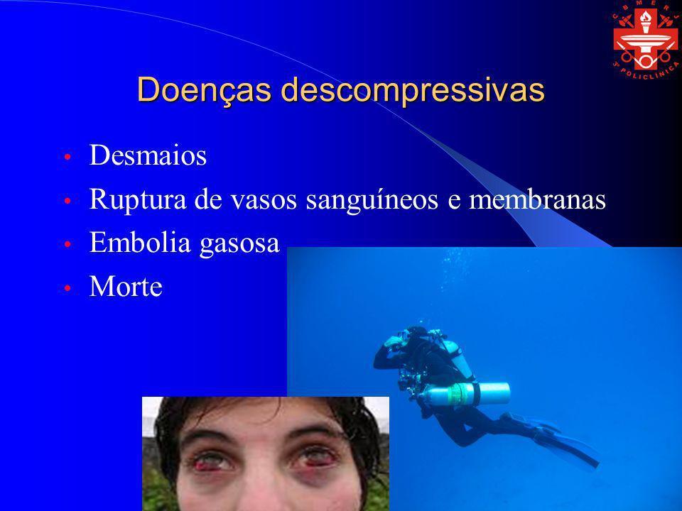 Doenças descompressivas