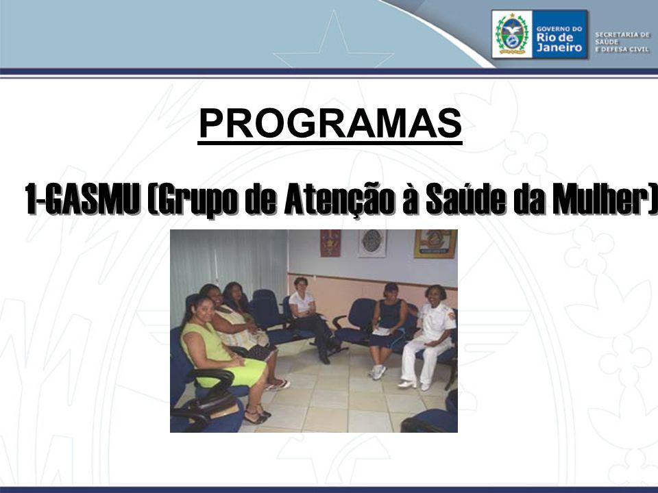 1-GASMU (Grupo de Atenção à Saúde da Mulher)